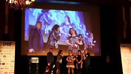 IREF 2017 : Danielle Courdouan reçoit le Trophée D'Argent