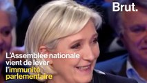 Levée de l'immunité parlementaire de Marine Le Pen : comment ça marche?