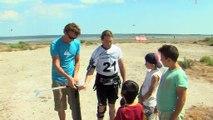 Les explications d'Alexandre Caizergues, champion du monde de vitesse en kitesurf
