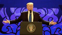 Trump And Putin Shake Hands At APEC Summit Dinner