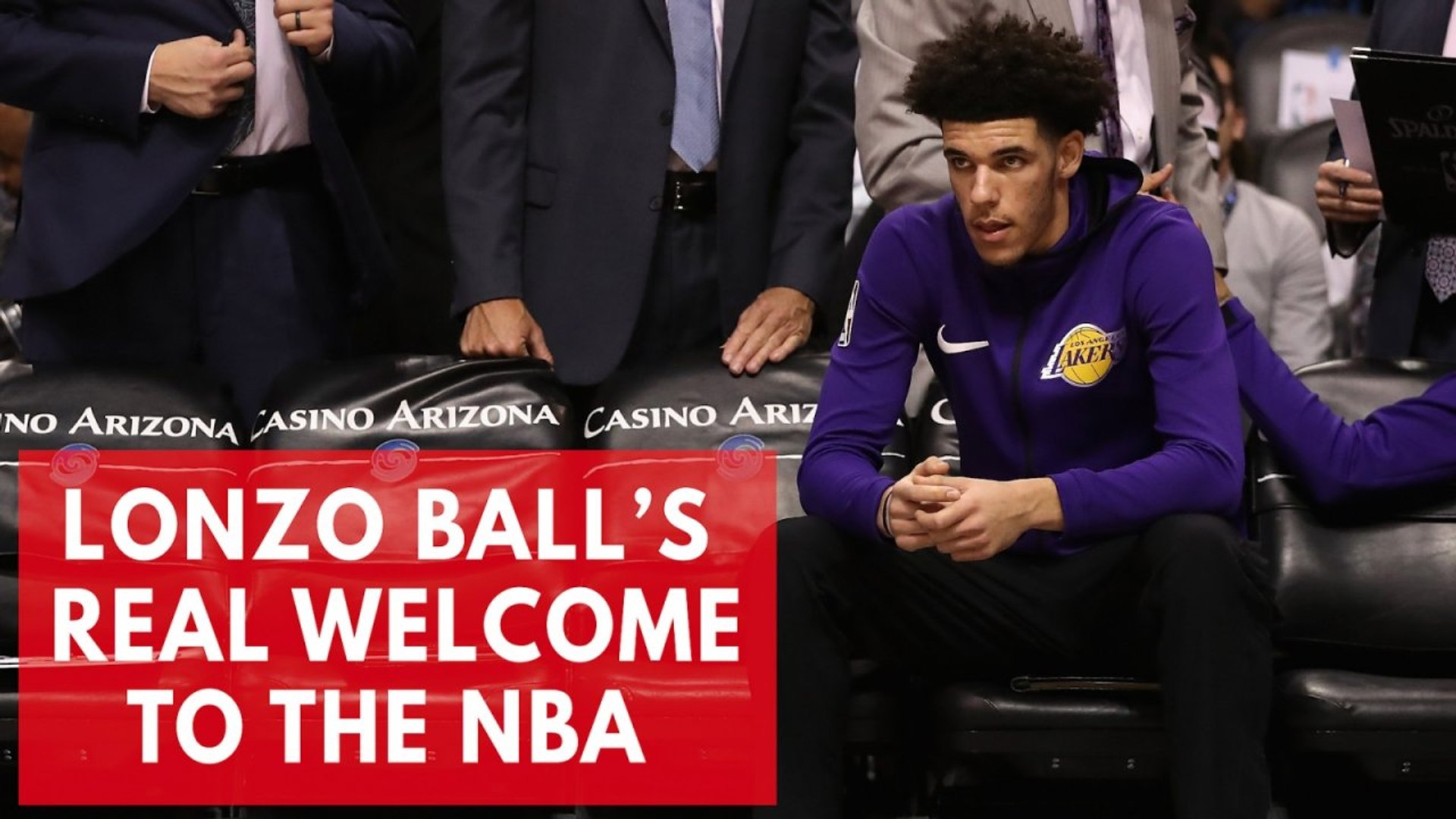 Lonzo Ball Learning The Hard Way How To Compete In The NBA