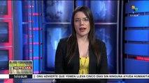 teleSUR noticias.  Venezuela rechaza nuevas sanciones de EE.UU.