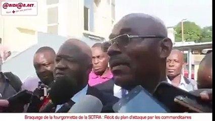 Attaque du fourgon de la SOTRA: la police criminelle a mis hors d'état de nuire 5 bandits