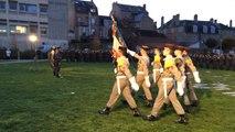 Cérémonie de création de la 12e compagnie de réserve du 2e Régiment d'infanterie de marine