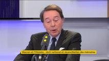 """Jean-Noël Jeanneney : """"Je ne crois pas que le Président doive réconcilier"""" les mémoires"""