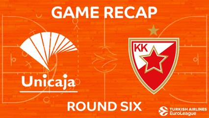 EuroLeague 2017-18 Highlights Regular Season Round 6 video: Unicaja 79-65 Zvezda