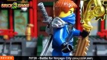 LEGO Ninjago Battle for Ninjago City Review : LEGO 70728