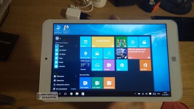 Спрут GADGETS - Обзор ПЛАНШЕТА - Onda V820w CH + windows 10 + ВЕДЬМАК 3 на планшете