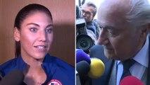 Blatter, acusado de acoso sexual