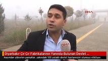 Diyarbakır Çır Çır Fabrikalarının Yanında Bulunan Devlet Hastanesi'ne Pamuk Yağıyor