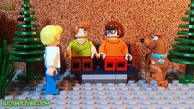 Daphne Scooby Doo Bitten By DRACULA! Lego Batman And Joker Halloween Stop Motion Animation