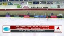 Pre Juvenile Women U11 - 2018 Skate Canada BC/YK Sectional Championships - Parksville, BC (31)
