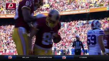 2015 - Redskins Kirk Cousins finds Jordan Reed for a 3-yard touchdown