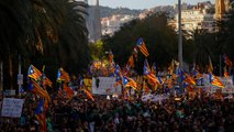Βαρκελώνη: Ξανά στους δρόμους οι υποστηρικτές της ανεξαρτησίας