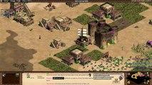 Aoe2 HD: Petard Rush on Arabia! (Only Monks & Petards)