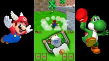 Super Mario 64 DS - Bowser In The Sky as Luigi - video