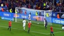 Espana vs Costa Rica 5-0 Todos los Goles y Resumen (Amistoso) 11/11/2017