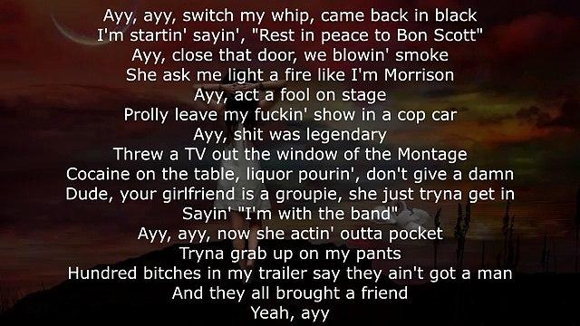 Post Malone - Rockstar ft. 21 Savage (Lyrics on Screen)