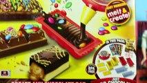 CHOCOLATE CANDY BAR MAKER Toy Marshmallows, Oreos & Sprinkles Sweet Treats