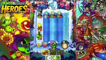 BRAIN FREEZE YETI BOSS! | Plants Vs Zombies Heroes Gameplay Walkthrough Part 5 (PvZ Heroes Ep 5)
