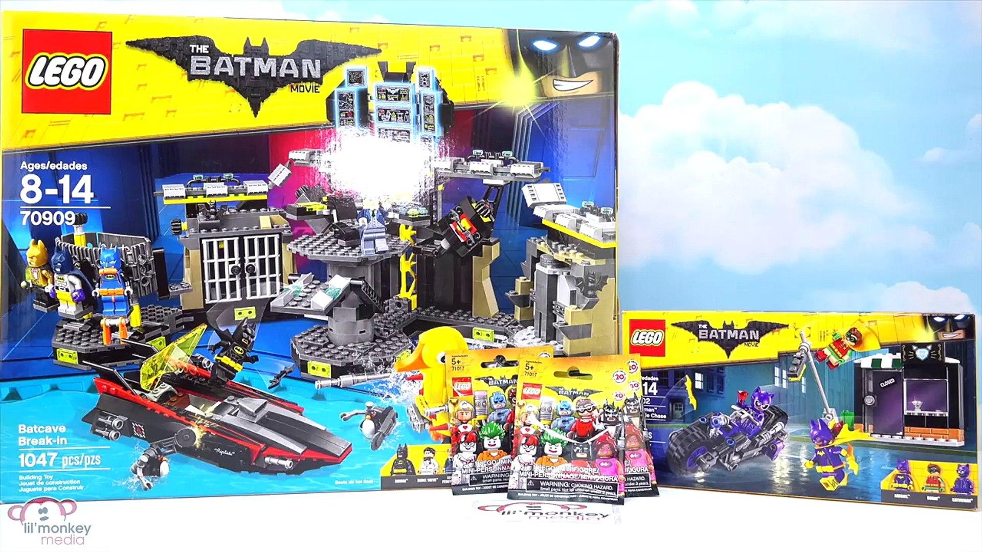 And Blind Lego Movie Batman Chase Bags Break InCatwoman Batcave Catcycle tsCxordhQB
