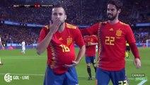Le carton de l'Espagne face au Costa Rica - Match amical - Coupe du Monde 2018