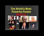 FORBES  World's Most 10  Powerful People - 2017 LATEST