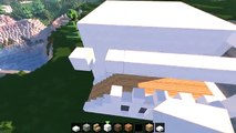 Minecraft: How To Build A Small Modern House Tutorial (#13