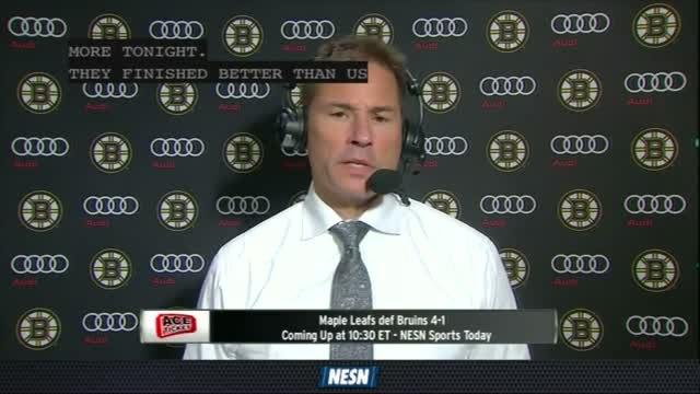 Bruins Overtime Live: Maple Leafs Def. Bruins 4-1