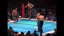 Kengo Kimura/Riki Choshu vs Antonio Inoki/Osamu Kido (New Japan March 8th, 1992)