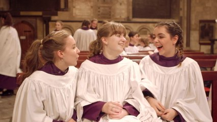 Canterbury Cathedral Girls' Choir - Carol Of The Bells - Ding Dong Merrily On High