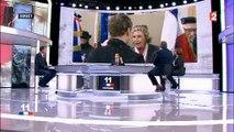 """Nicolas Sarkozy """"parrain"""" d'Emmanuel Macron : Sur France 2, Nathalie Saint-Cricq se moque des propos de Carla Bruni"""
