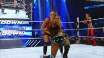 Nikki Bella _u0026 Brie Bella  vs. Naomi _u0026 Sasha Banks_ SmackDown – 2017