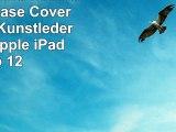 Weißes Pferd rennt auf Wiese Case Cover  Folio aus Kunstleder für das Apple iPad Pro 12
