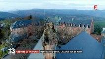 Alsace : pèlerins et touristes se croisent à l'abbaye du Mont-Sainte-Odile