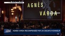 Agnès Varda récompensée par un Oscar d'honneur