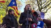 Els consellers a Brussel·les prenen part en un acte públic