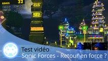 Test vidéo - Sonic Forces - Le retour en force du hérisson ?
