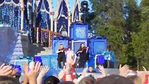 Dove Cameron singing White Christmas - Disney Channel  Holiday Celebration 2017
