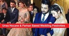 Urwa Hocane & Farhan Saeed Wedding Festivities