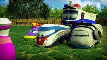 My Red Police Car - My Magic Pet Trains Police Vehicle Video for Kids!