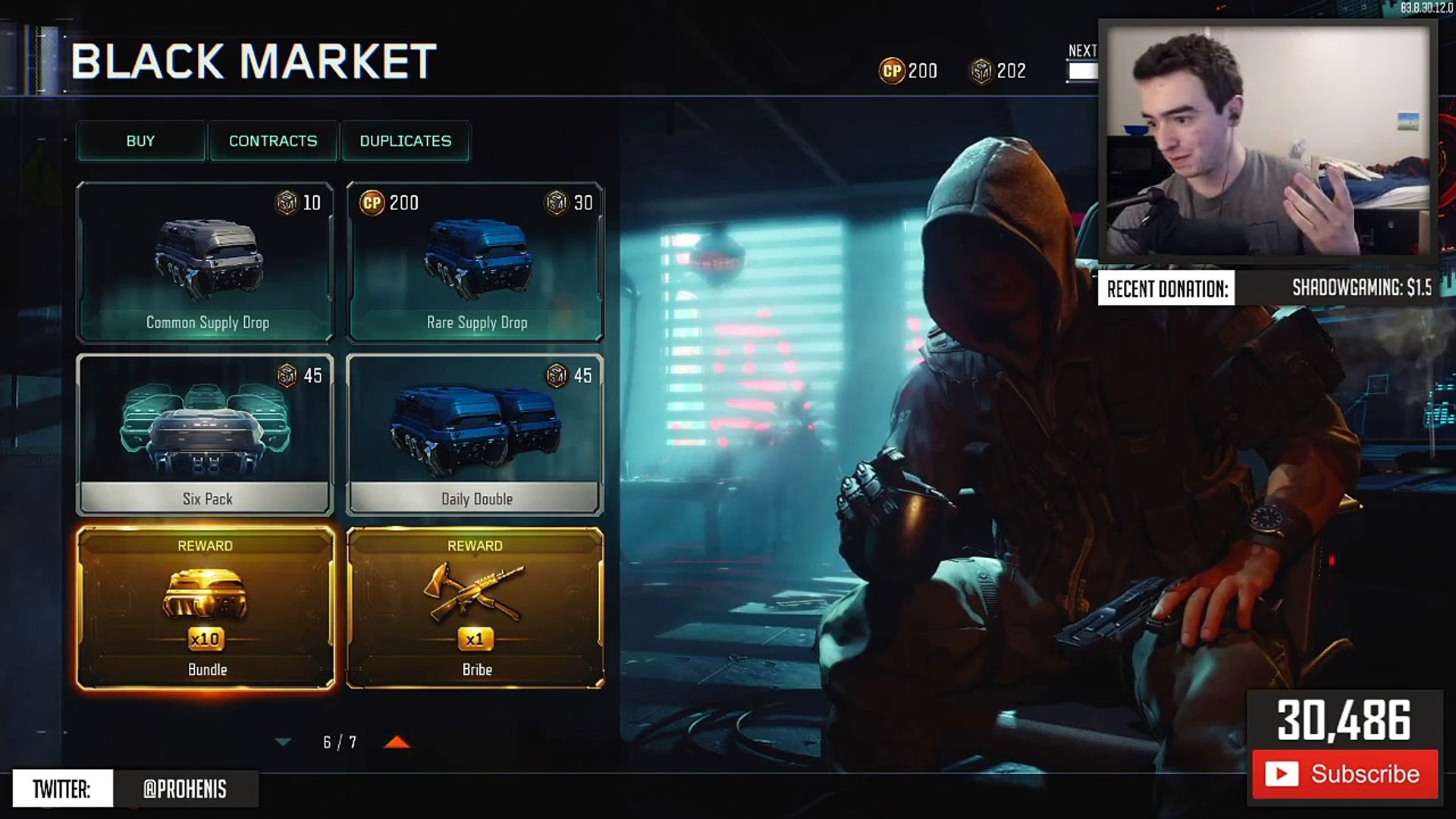 3 NEW DLC WEAPONS in 1 WEAPON BRIBE SUPPLY DROP OPENING! (BO3 New Weapon Opening)