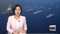 S. Korean Navy holds unprecedented joint naval drill with U.S. involving three U.S. aircraft carriers