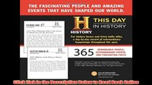 Read Online History Channel This Day in History 2018 Calendar: 365 Remarkable People, Extraordinary Events, and Fascinating Facts Book