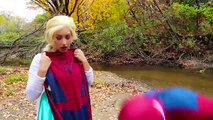 Frozen Elsa & Spiderman BOXING! w_ Rapunzel Joker Maleficent Toys! Superhero Fun in real life IRL | Superheroes | Spiderman | Superman | Frozen Elsa | Joker