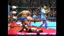 Genichiro Tenryu/Ashura Hara vs Stan Hansen/Terry Gordy (All Japan December 20th, 1987)