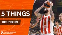 Turkish Airlines EuroLeague, Regular Season Round 7: 5 Things to Know
