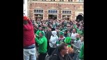 Les fans Irlandais envahissent Copenhague en chantant dans les rues ! Coupe du monde de Football 2018