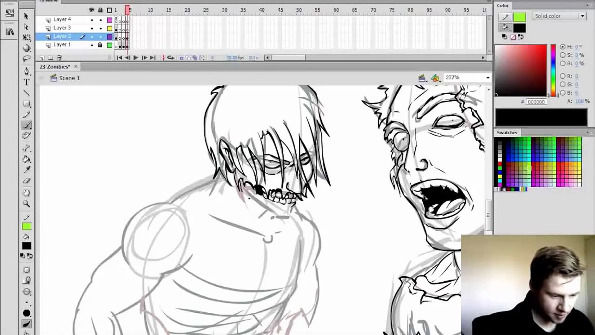 Lets Draw: Zombies!