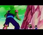 DBZ Cap084.3 Vegeta salva a Gohan  Vegeta cree que se convirtió en el super Saiyajin